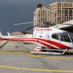 Крещение или первый полет на вертолете в Монако